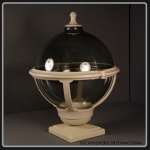 Globe Style Balustrade Lamp